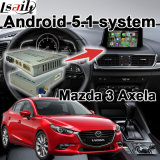 Android Navigation System Box for Mazda 3 Axela Upgrade Touch Navigation WiFi Bt Mirrorlink HD 1080P Google Map Play Store Video Interface