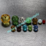 Colorful Round Shape Variety Sizes Faceted Crystal Beads