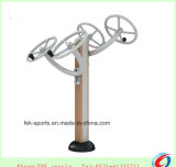 Taiji Wheel Wood-Plastic Outdoor Playground Equipment