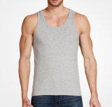 Wholesale Supplier Men Cotton U Neck Bodybuilding Tank Top