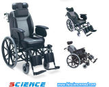 Heavy Duty Steel Wheelchair with Mag Wheel (SC-SW32)