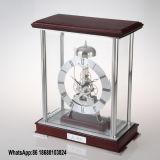 Quartz Striking Skeleton Desk Clock