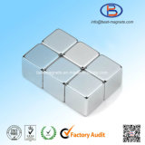 10X10X10 High Precision Nickel Coating Permanent NdFeB Magnet Cubes