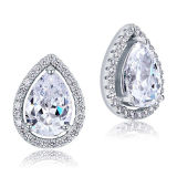 Marquise 925 Silver Stud Earring Jewelry Wholesales