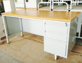Latest Designs New Product Iron Desk Steel Office Table Specifications