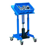 Mobile Hydraulic Work Positioner Cart 150kg Capacity