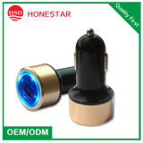 Very Fashion Blue LED Light Dual Car USB Charger