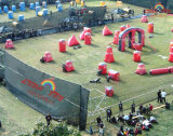 Commercial Grade Inflatable Paintball Bunker for Sports Game