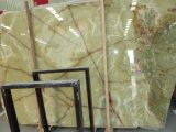 Natural Green Onyx for Tile Slab Stone Table