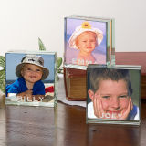 Personalized Mini Glass Photo Blocks for Ladies Gifts