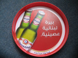 Plastic ABS Beer Serving Tray with Logo for Promotion, OEM Order Are Accepted