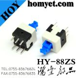 High Quality Push Lock Switch /Tact Switch with 8*8mm on off Six Pin (HY-88ZS)