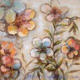 Decorative Floral Oil Painting (ADA9693)