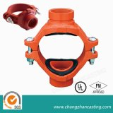 Red Coating Flanged Socket Ductile Iron Pipe Fittings
