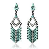 Trendy Bohemia Style Resin Stone Earring (XER13074)