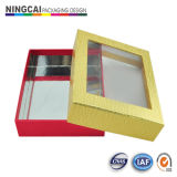 Rigid Paper Gift Packaging Box with Display Window (NC-057)