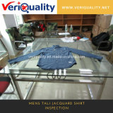 China Mens Tali Jacquard Shirt Inspection Service, QC Service