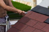 Colorful Fiberglass Asphalt Roof Shingle 20-30 Year Service Life