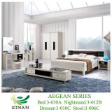 Bedroom Furniture Set/Leather Bed (3-030A)