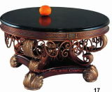 Hot Sell Antique Wood MDF Resin Coffee Table C-1800