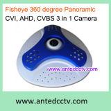 360 Degree Panoramic Fisheye HD Tvi/Cvi/Cvbs Hybrid CCTV Camera