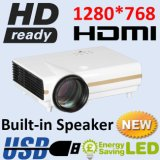 3500lumens 720p HDMI Portable Video LED Projector