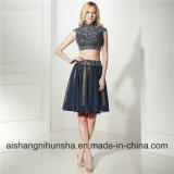 Elegant Short Homecoming Dress with Lace and Sequins Short Prom Dress