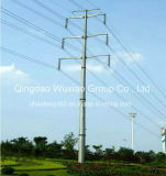 Power Transmission Monopole Steel Tower