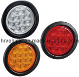 "Stop/Turn/Tail, 4"" Round LED Light for Truck Trailer"