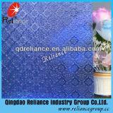 3.5mm Blue/Grey/Bronze Flora/Nashiji/Karatachi Figured/Patterned Glass