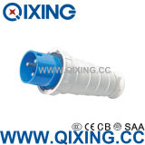 Plastic Material Safety IP67 125 AMP Industrial Plug