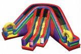 Inflatable 3 Lane Wacky Slide (AED-F45)