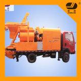 Jbc40 Double Shaft Concrete Mixer Pump by Truck Trailer