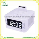 Hotel Alarm Clock Bluetooth Docking Station Player for Phone