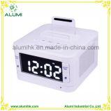 Hotel Alarm Clock Bluetooth Docking Station Player for Phone