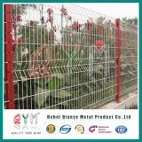 High Quality Green Powder Coated Welded Wire Mesh Fence Panel
