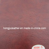 Deluxe Dark Red PVC Leather for Furniture (Hongjiu-408#)