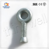 Electric Power Fitting Galvanized Steel Q Type Ball Eye