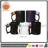 Grotesque Gifts on Handle Promotion Hot Sell Mug