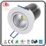 High Power Epistar LED COB Downlight (KING-DL-COB-7W)
