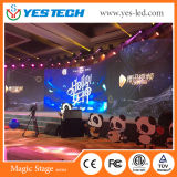 High Definition Indoor Full Color P4 LED Screen (500*500mm/Cabinet)