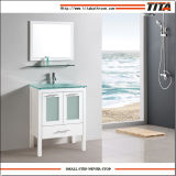 New Design Bathroom Vanity with Tempered Glass Basin T9175