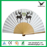Promotional Paper Craft Hand Fan Use Greek Party Decorations