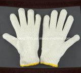 2015 Hot Sale Knitted Cotton Gloves, Polycotton Gloves