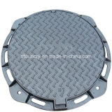 Hinged Casting Iron Manhole Cover & Frame with Rubber Gasket