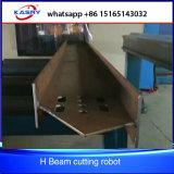 H Slope Profile Beam CNC Plasma Cutting Robot