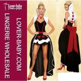 Wicked Queen of Hearts Costume Sexy Wonderland Queen Costume (L1299)