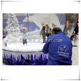 Inflatable Snow Globe Created by Big World Inflatables in 2009