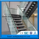 10mm Ce, Igcc, Csi Certificated Clear Railing Tempered Glass