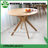 Solid Wood Round Cafe Table Modern Coffee Table (W-T-858)
